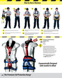 Portwest FP19 4 Point Comfort Plus Fall Arrest & Suspension Harness