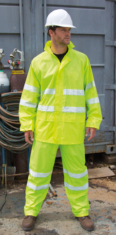 Result Hi Viz Waterproof Suit