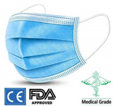 Surgical Face Mask - 3 Layer Surgical Disposable Masks