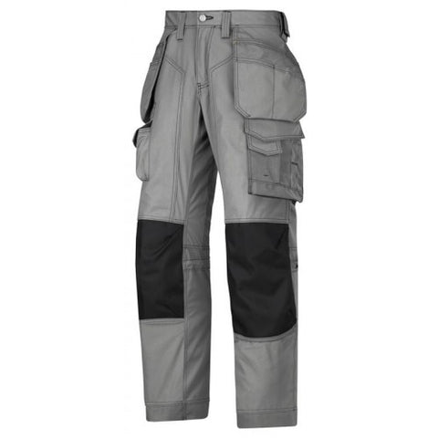 Snickers 3223 Floor Layers Trouser Grey 38""