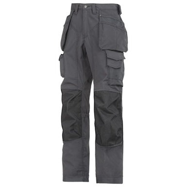 Snickers 3223 Floor Layers Trouser Steel Grey / Black (Last One) - SALE