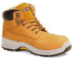 Holton Safety Boot - Honey Nubuck