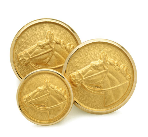 Horse Head Blazer Button Set