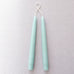 "9"" Taper Candle Pair in Aquamarine"