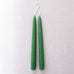 "9"" Taper Candle Pair in Holly Green"