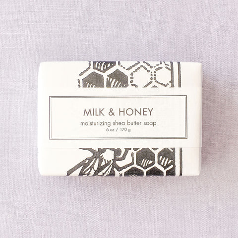 Milk & Honey Shea Butter Bath Bar