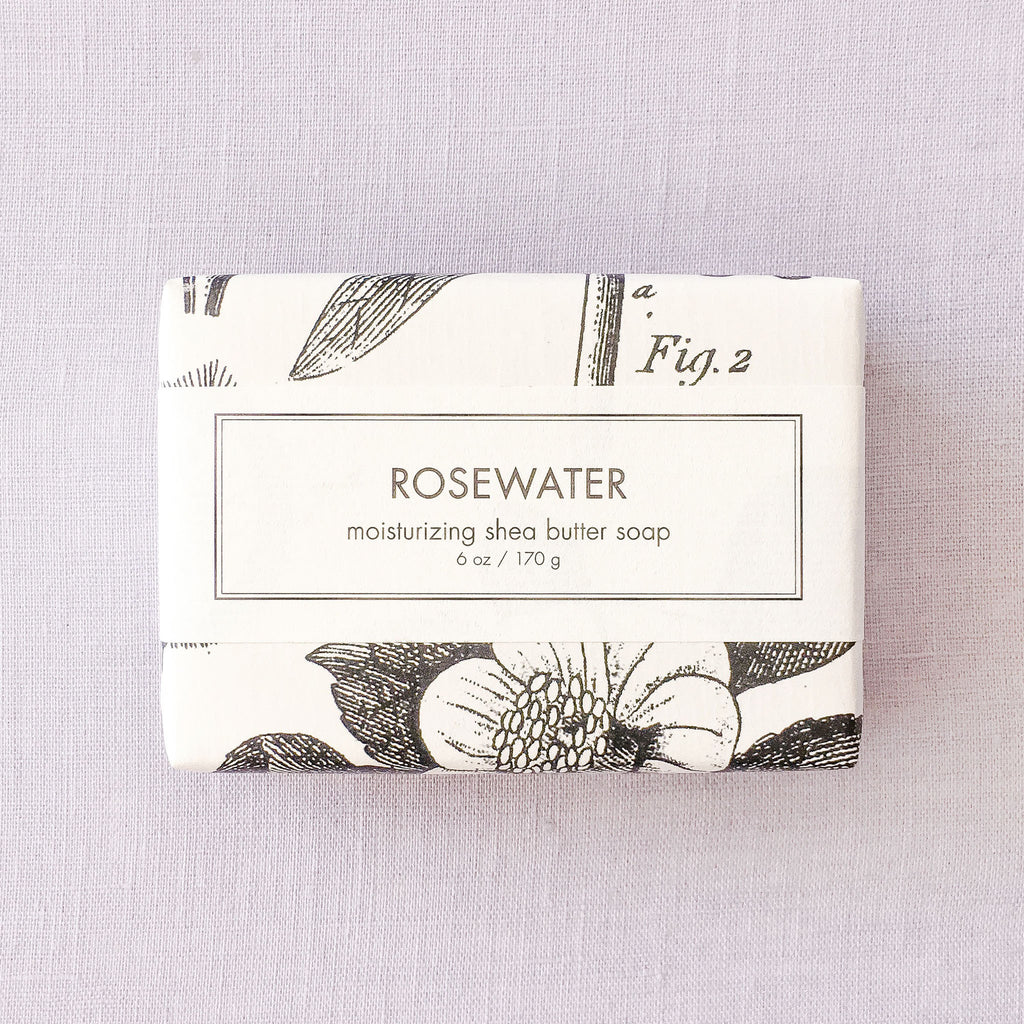 Rosewater Shea Butter Bath Bar