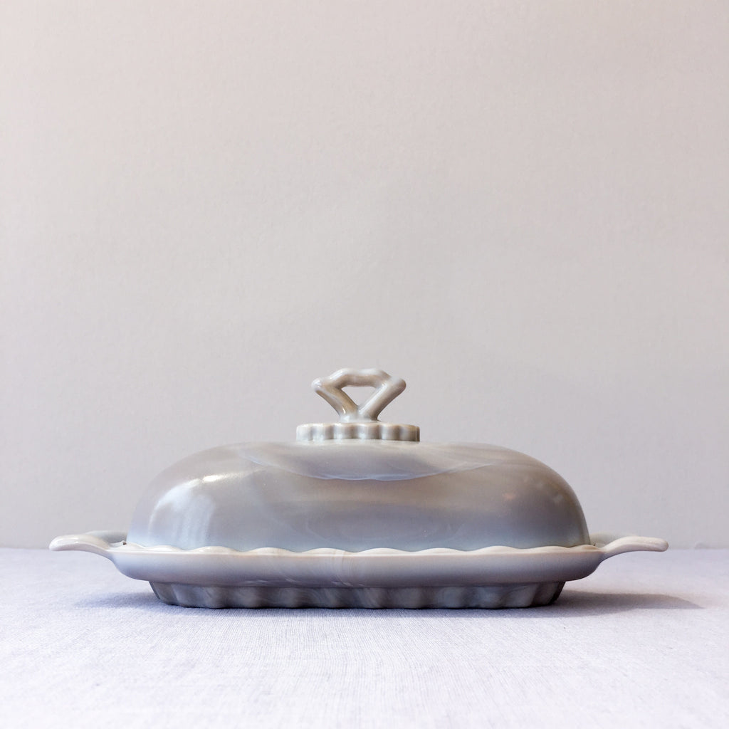 Marble Heirloom Butter Dish