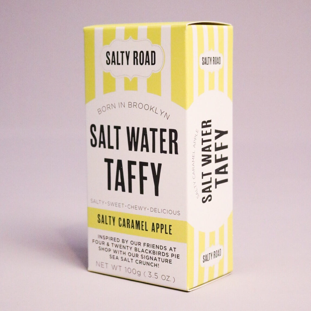 Salty Caramel Apple Salt Water Taffy