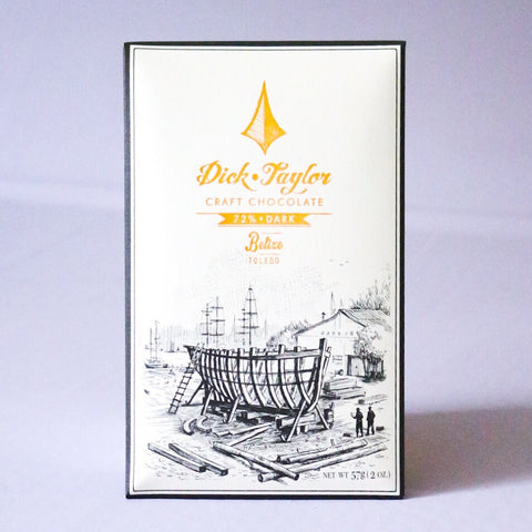 72% Dark Belize Chocolate Bar
