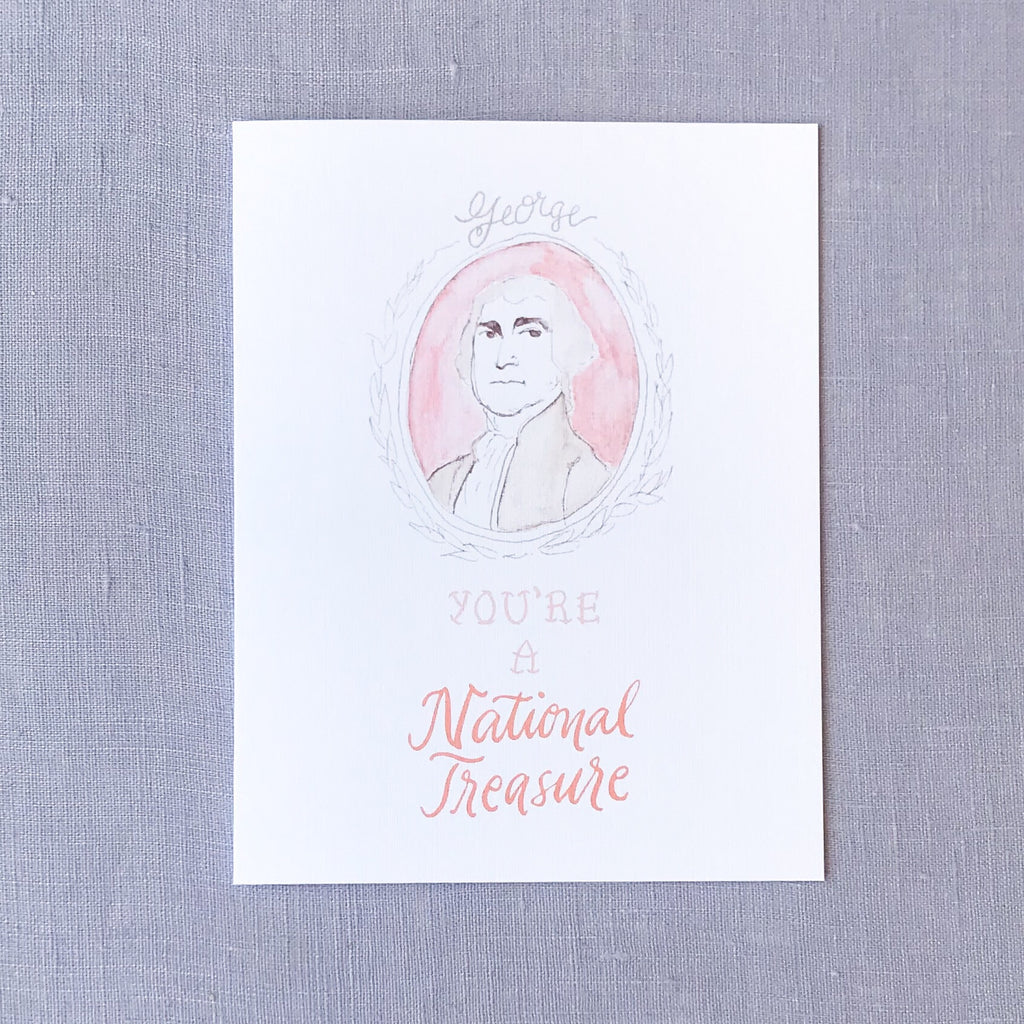 National Treasure Card