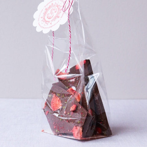 Strawberry Basil Bark