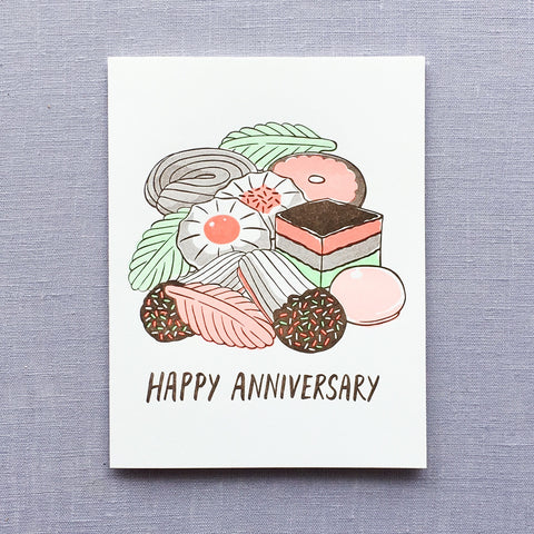 Anniversary Cookies Card