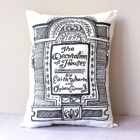 The Decoration of Houses Throw Pillow