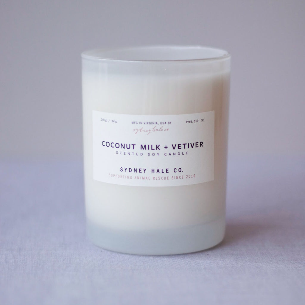 Coconut Milk + Vetiver Candle