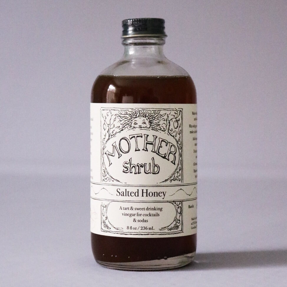 8 oz. Salted Honey Shrub