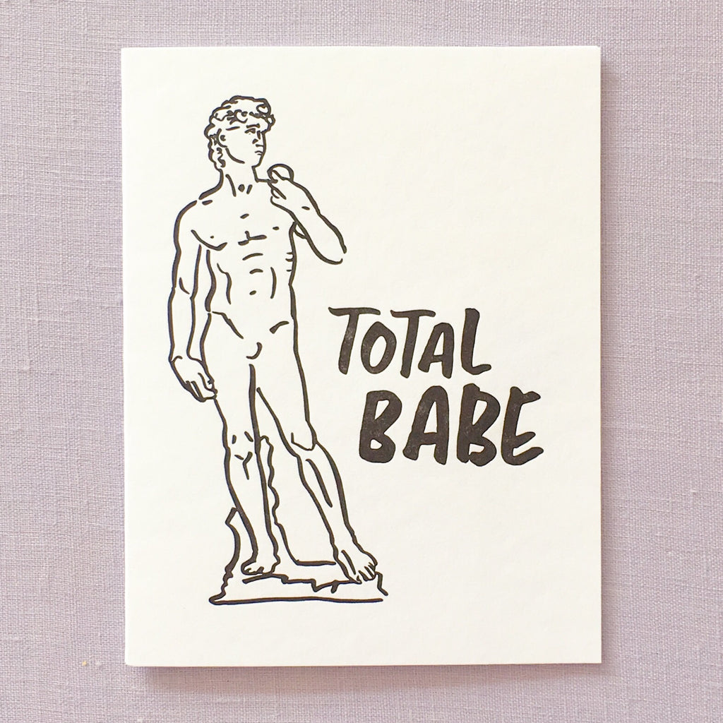Total Babe Card