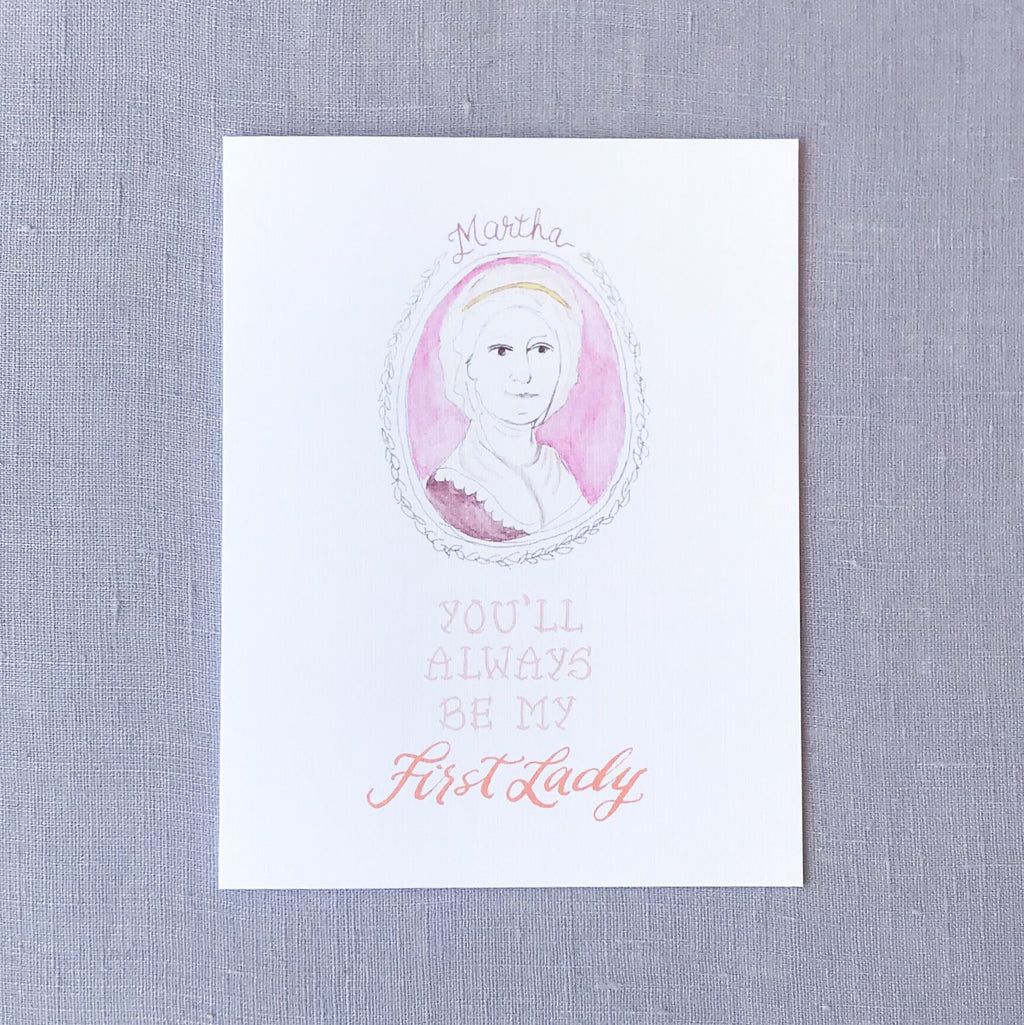 First Lady Card