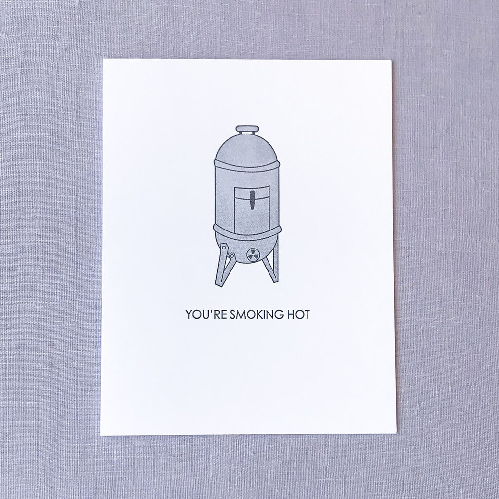 Smoking Hot Card