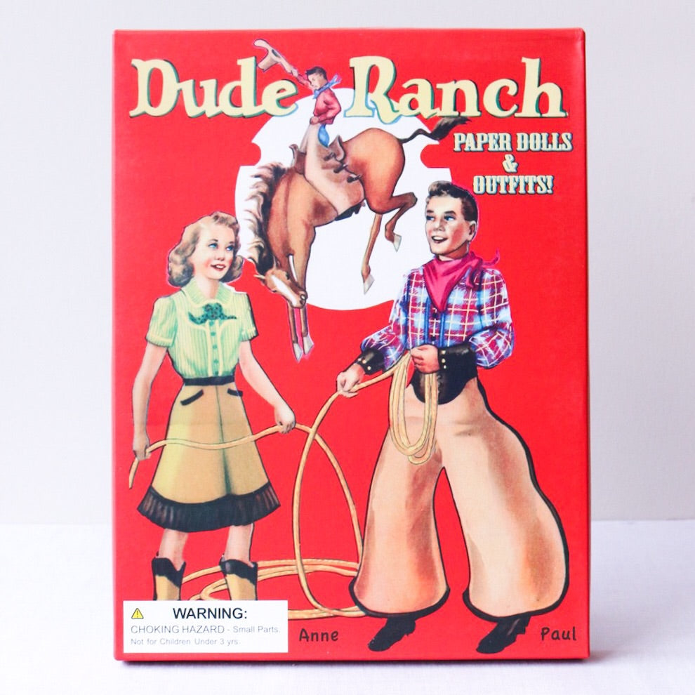 Dude Ranch Paper Dolls