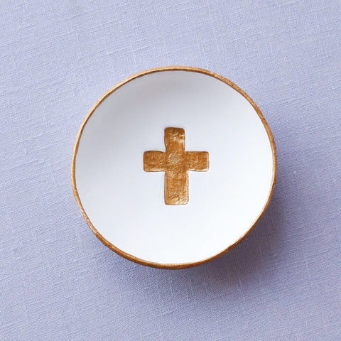Cross Blessing Bowl