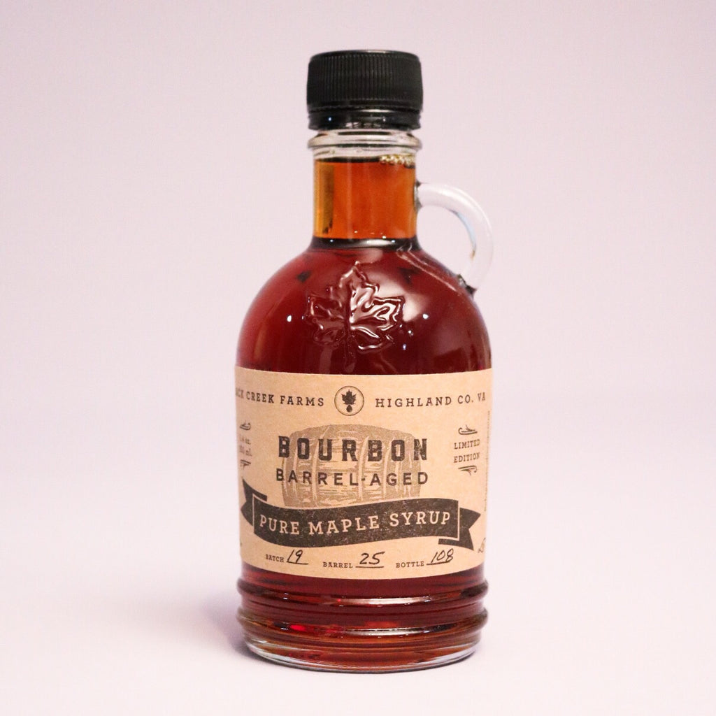Bourbon Barrel Aged Pure Maple Syrup (8.4 oz)