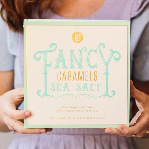 Fancy Sea Salt Caramels