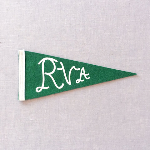 Kelly Green RVA Pennant