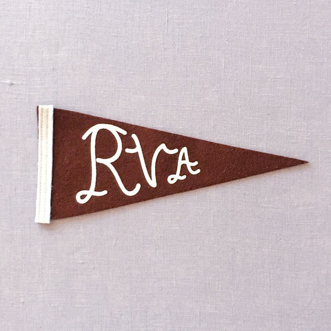 Brown RVA Pennant