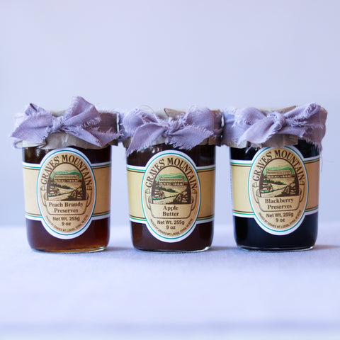 Graves' Mountain Preserves Trio