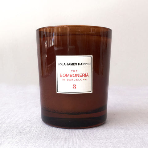 Lola James Harper Candle No. 03 The Bomboneria in Barcelona