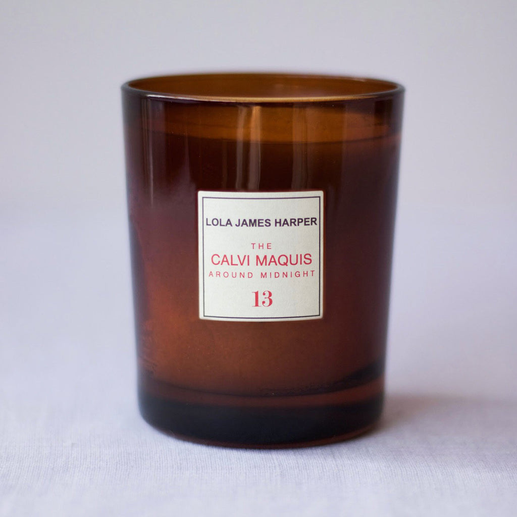 Lola James Harper Candle No. 13 The Calvi Maquis Around Midnight