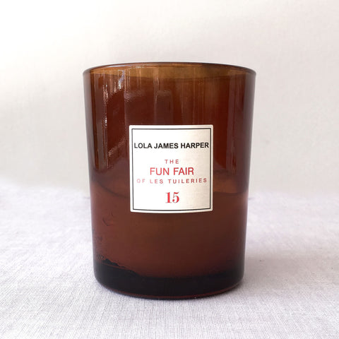 Lola James Harper Candle No. 15 The Fun Fair of les Tuileries