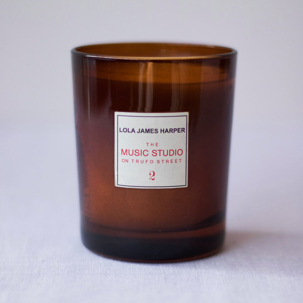 Lola James Harper Candle No. 02 The Music Studio on Trufo Street