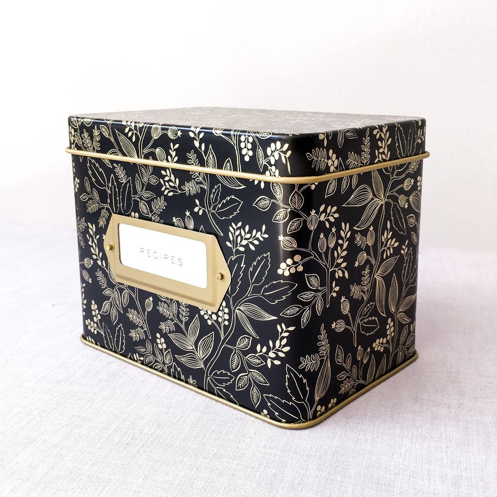 Queen Anne Recipe Tin