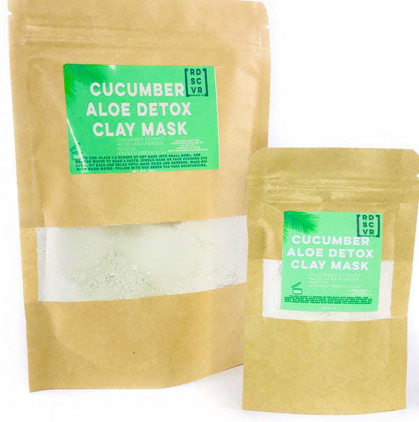 Cucumber Aloe Clay Detox Face Mask
