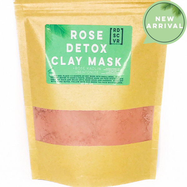 Rose Clay Detox Face Mask