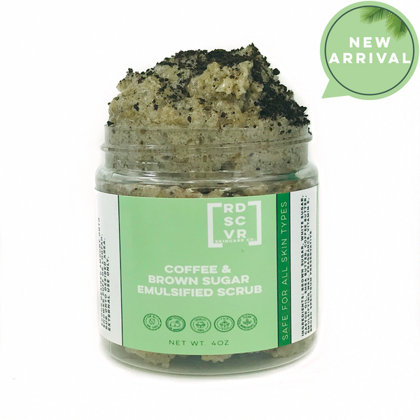 Coffee & Brown Sugar Emulsified Scrub
