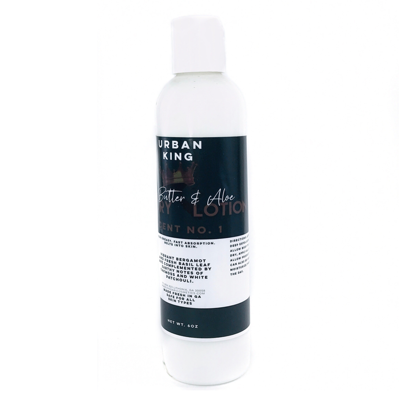 Urban King Shea Butter & Aloe Luxury Lotion