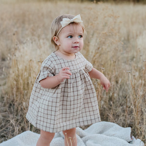 Toddler, little girl plaid shirt/dress
