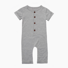 Little boy/baby grey romper/one-piece