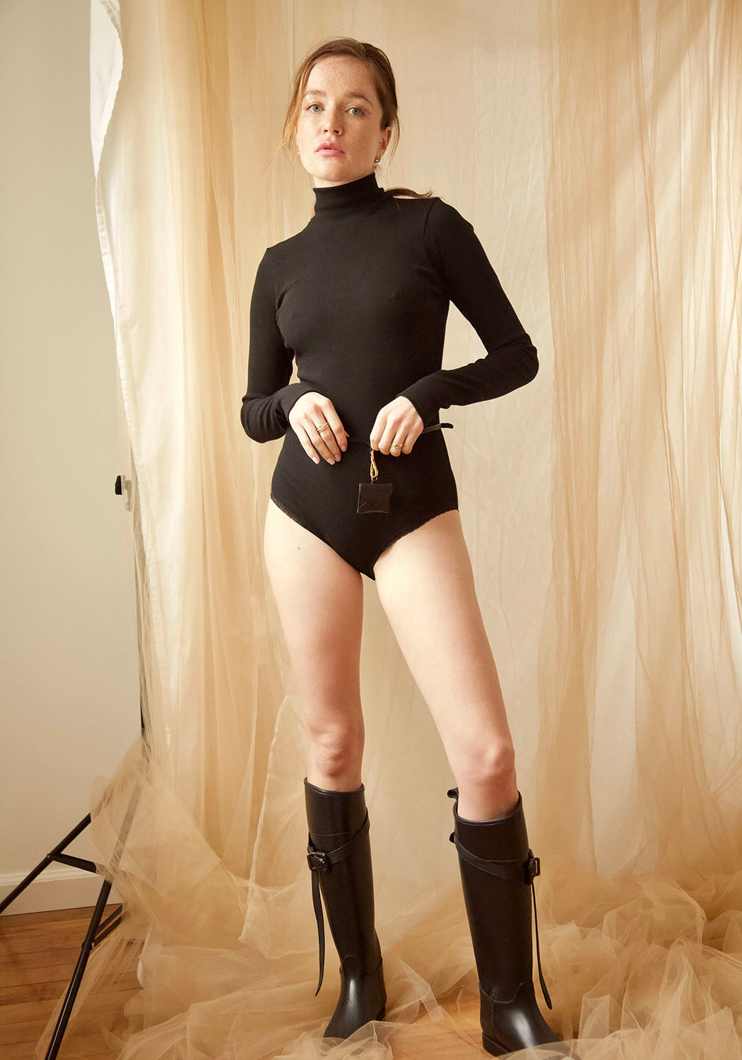 Barbarella Buttery Soft Bamboo & Organic Cotton Ribbed Bodysuit   ONLINE EXCLUSIVE