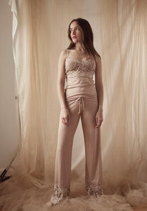Belucci Camisole and Drawtring Pant Set