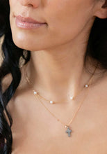 Tribute 18K Gold Paperclip & Pearls Necklace ONLINE EXCLUSIVE