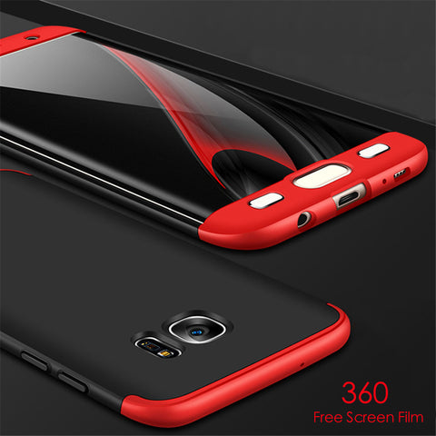 Luxury 360 Full Protection Case For Samsung Galaxy S8 Plus S7 and Edge