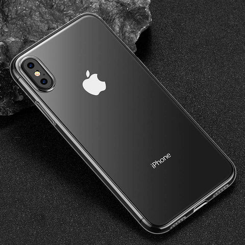 Ultra Thin Soft transparent iPhone Case