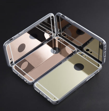 Luxury Mirror Electroplating Case For iPhone