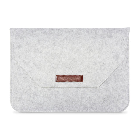 Soft Sleeve Felt Laptop Case (available with additional small felt storage bag)