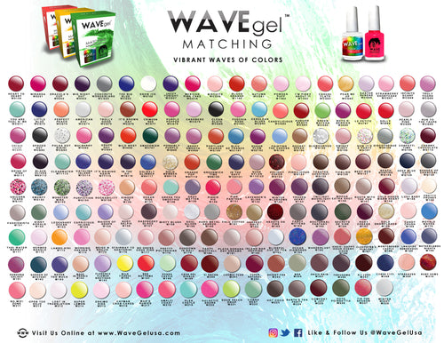 Complete WAVEGEL Matching Set Gel 178 Colors