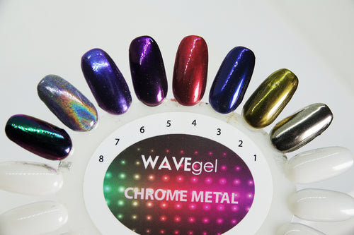 WAVEGEL PEACOCK CHROME # 8